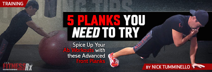 5 Planks You Need To Try
