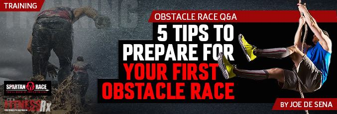 5 Tips To Prepare For Your First Obstacle Race