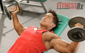 The Best Lifts for Chiseled Chest - INCLINE DUMBBELL FLYE