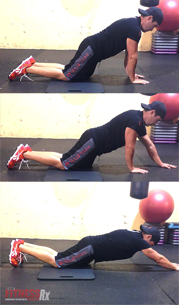 5 Planks You Need To Try - Spice Up Your Ab Workouts With These Advanced Front Planks - Arm Walk-out