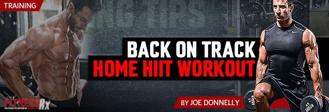 Back On Track Home HIIT Workout