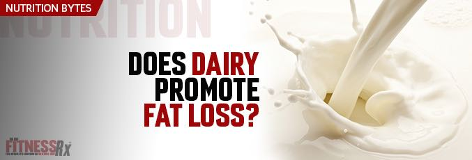Does Dairy Promote Fat Loss?