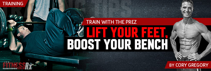 Lift Your Feet, Boost Your Bench