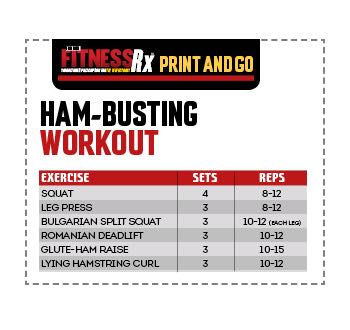Ham Busters - The Best Hamstring Exercises