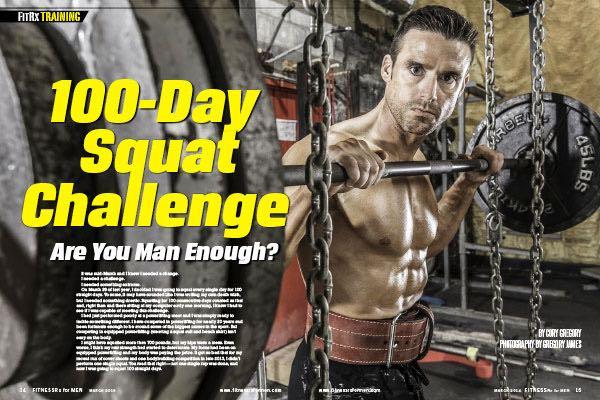 100 Day Squat Challenge