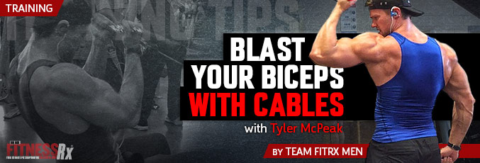 Blast Your Biceps With Cables