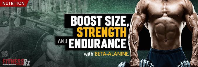 Boost Size, Strength and Endurance