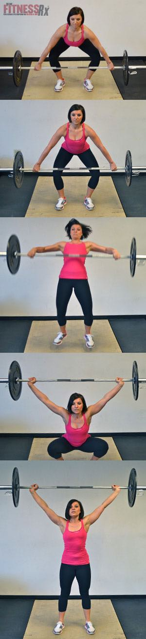 EXERCISE SPOTLIGHT: THE SNATCH - Build total-body strength, power and improve overall fitness