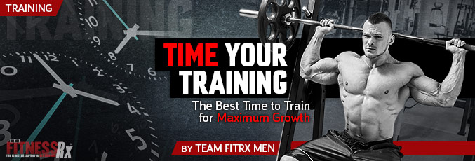 Time Your Training