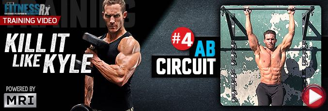 Kill It Like Kyle: Ab Circuit