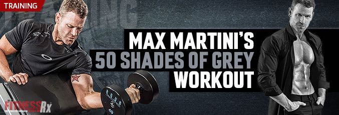 Max Martini's 50 Shades Of Grey Workout