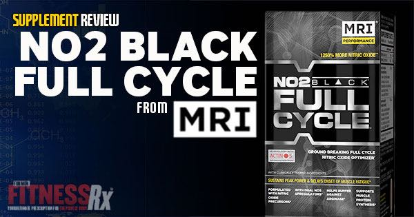 MRI's NO2 Full Black Cycle