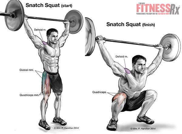 Jack Up Your Power and Strength With Snatch Squats