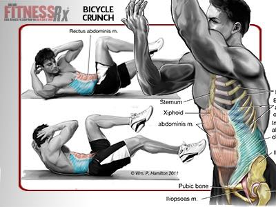 Bicycle Crunch Your Way To Great Abs