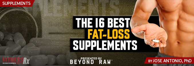 The 16 Best Fat-Loss Supplements