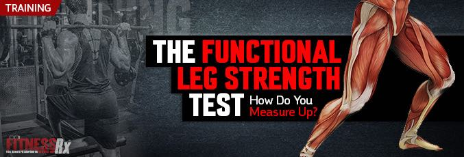 The Functional Leg Strength Test