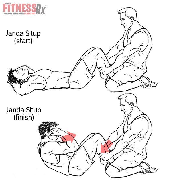 Janda Situps For A Better, Safer Ab Workout