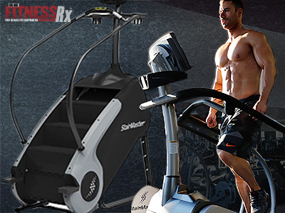 Burn More Fat With HIIT Stepmill Cardio Conditioning
