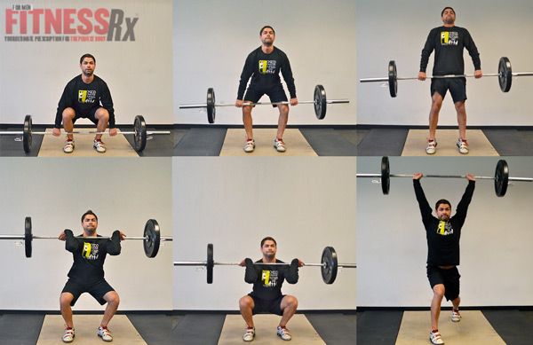 Exercise Spotlight: The Clean And Jerk
