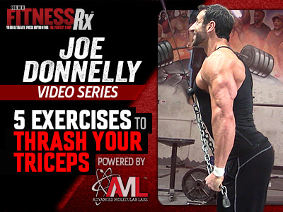 Trash Your Triceps With Joe Donnelly
