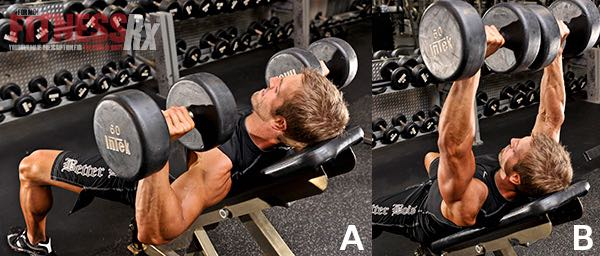 Incline Dumbbell Presses