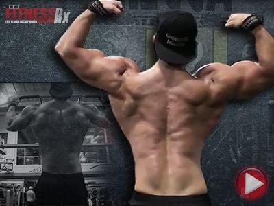 Sadik Hadzovic Back Workout