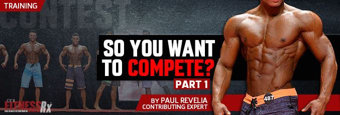 So You Want To Compete?