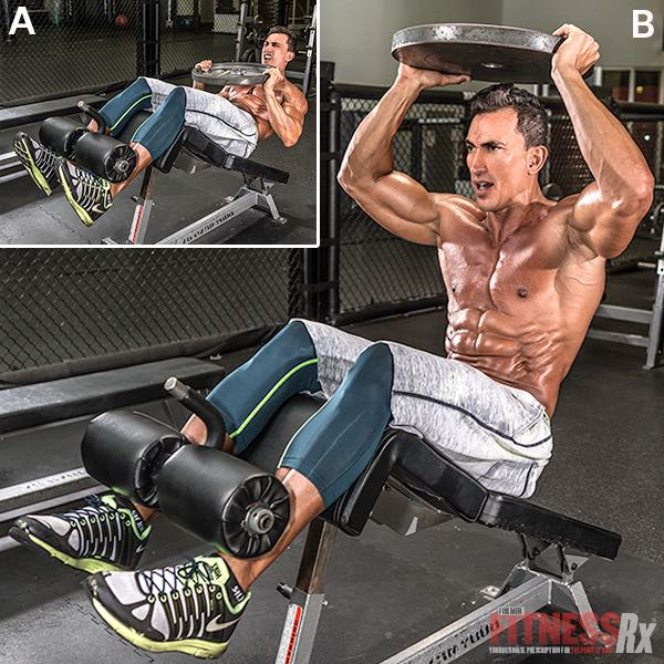 The Beast Mode Ab Workout Fitnessrx For Men