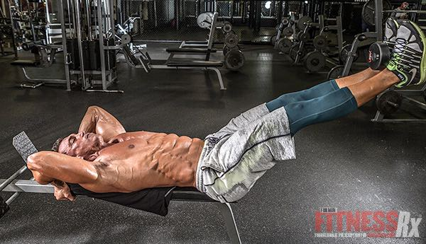Weighted Leg Lifts