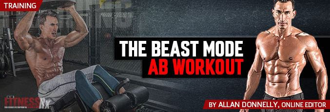 The Beast Mode Ab Workout
