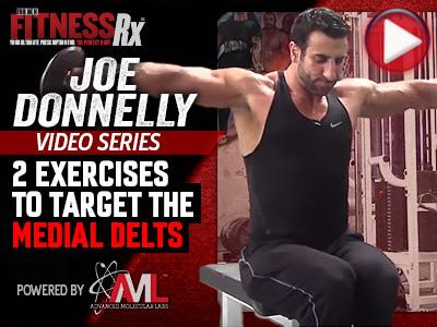 Shoulder Training Coaching Points With Joe Donnelly: Part 1