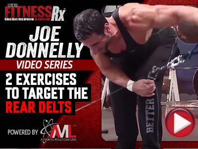 Part 2 2 Exercises To Target The Rear Delts Fitnessrx