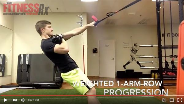 SUSPENSION TRAINER 1-ARM ROW