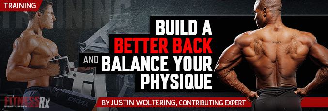 Build A Better Back And Balance Your Physique