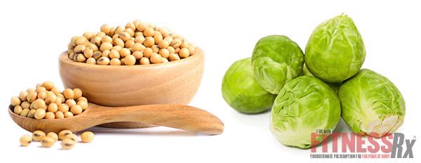 SOYBEANS & BRUSSELS SPROUTS