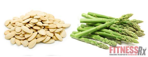 Pumpkin Seeds & Asparagus