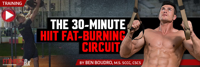 The 30-Minute HIIT Fat Burning Circuit