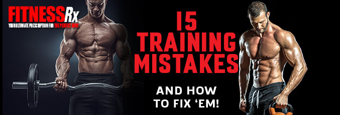 15 Training Mistakes – and How to Fix 'em!