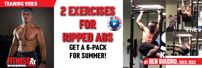 2 Exercises for Ripped Abs