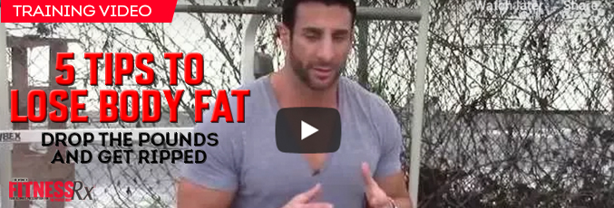 5 tips to lose body fat