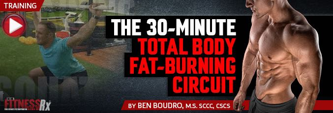 The 30-Minute Total-Body Fat-Burning Workout