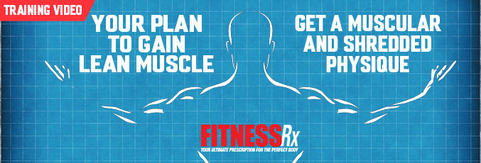 Your Plan to Gain Lean Muscle