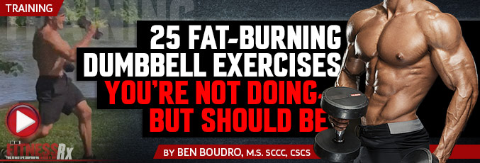 25 Fat-Burning Dumbbell Exercises You're Not Doing – But Should Be