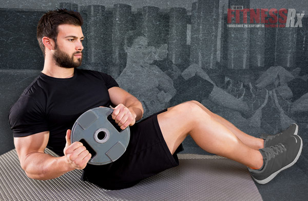 The Total-Body Weight Plate Workout: 8 Exercises To Help You Build Muscle