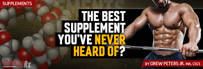 The Best Supplement You've Never Heard Of?