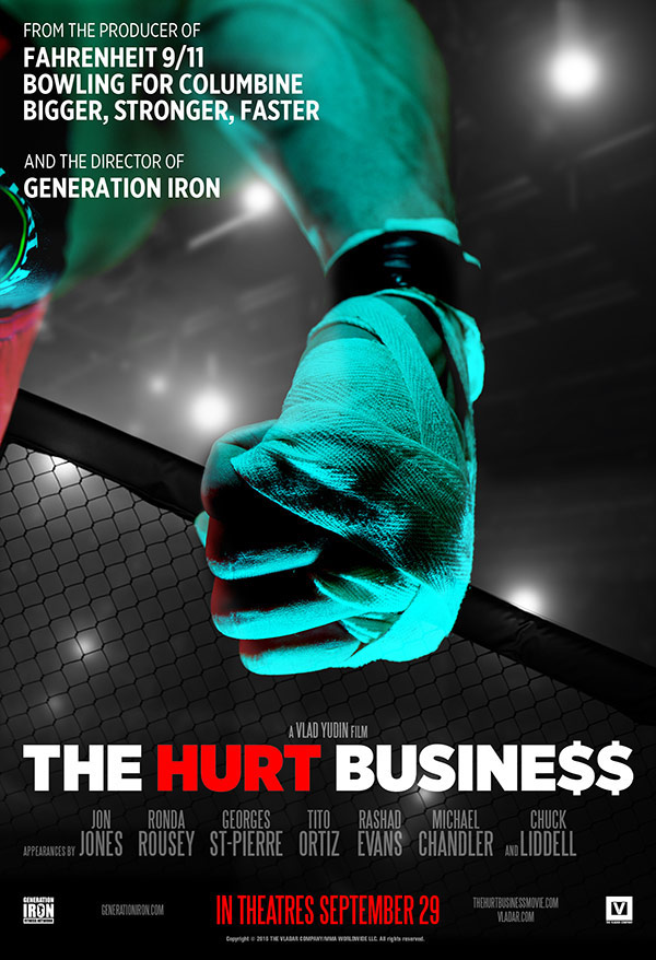 """The Hurt Business"" Takes a Deeper Look Into MMA"