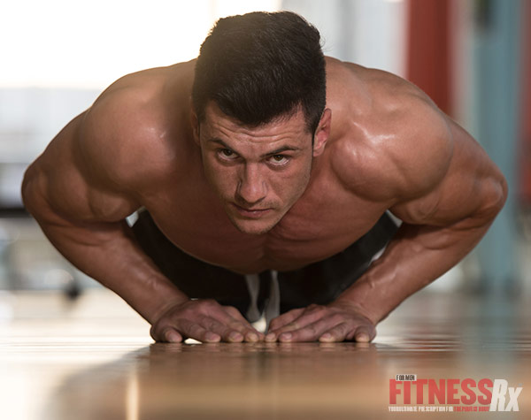 Build Serious Muscle with the Push-Up