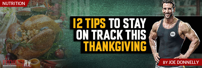 12 Tips To Stay On Track This Thanksgiving