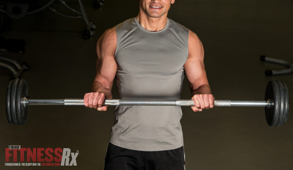 Reverse Grip Barbell Rows