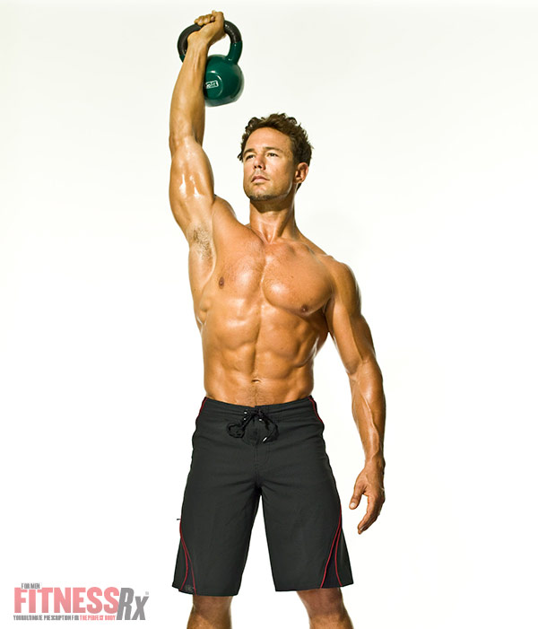 The Kettlebell Revolution Kettlebell Clean and Press